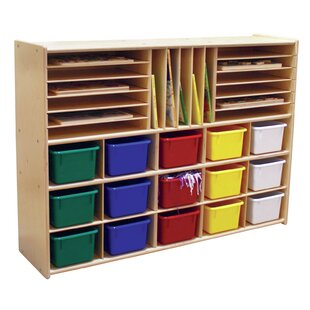 Searching for Contender 32 Compartment Cubby with Trays ByWood Designs