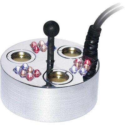 Image of 3 Jet Pond Fogger, 18 LED Lights, Transformer and Ring Alpine