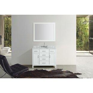 Savings Weatherford 43 Single Bathroom Vanity Set with Mirror ByOrren Ellis