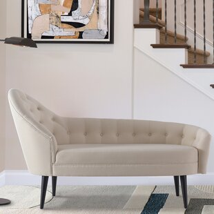 Everly Quinn Rush Tufted Chaise Lounge
