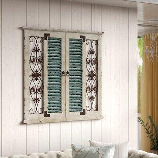 Rustic Window Wall Decor Wayfair
