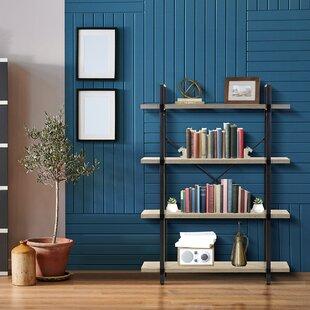 Lloydminster 4 Tiers Open Etagere Bookcase By Ebern Designs