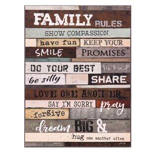 Family Quotes Wall Art Wayfair