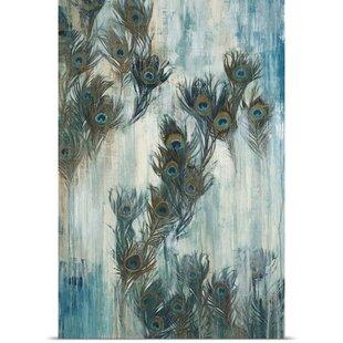 U0027Proud As A Peacocku0027 By Liz Jardine Painting Print