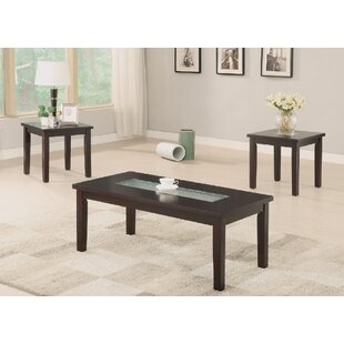 A&J Homes Studio Foley 3 Piece Coffee Table Set