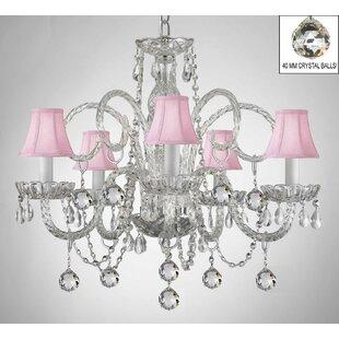 House of Hampton Meredith 5-Light Shaded Chandelier