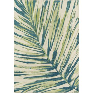 Liesel Green Indoor/Outdoor Area Rug