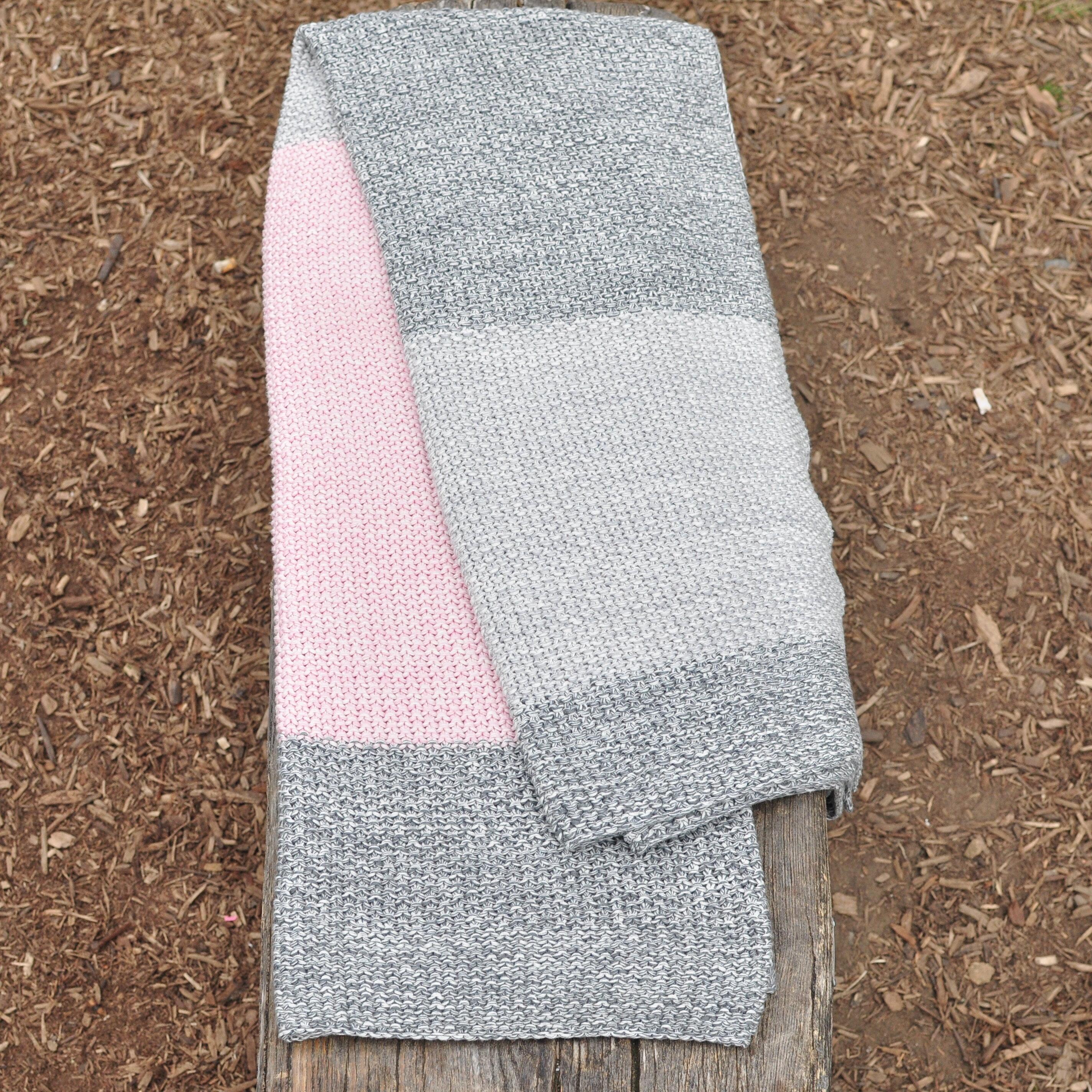 Pink Lemonade Vena Multi Stripes 100 Cotton Throw Wayfair