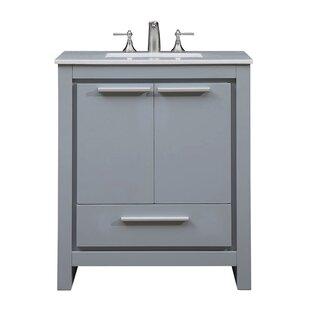 Easterling 30 Single Bathroom Vanity Set