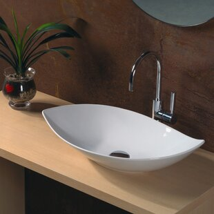 WS Bath Collections Ceramica Ceramic Specialty Vessel Bathroom Sink