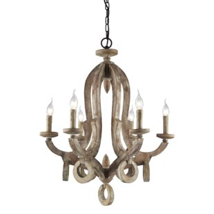 Bevis 6-Light Chandelier b..