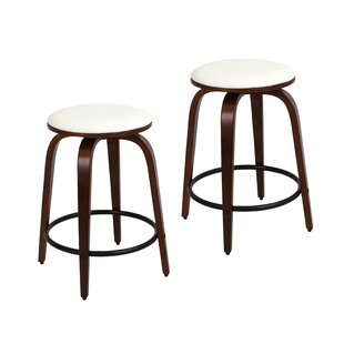 Harvey 24.5 Swivel Bar Stool (Set of 2) by Corrigan Studio