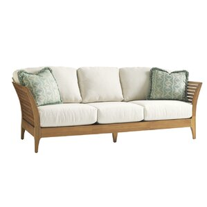 Tres Chic Patio Sofa with Cushions