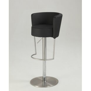 Sareah Adjustable Height Bar Stool Orren Ellis