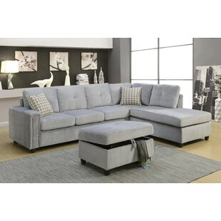 Alcott Hill Branham Reversible Sectional