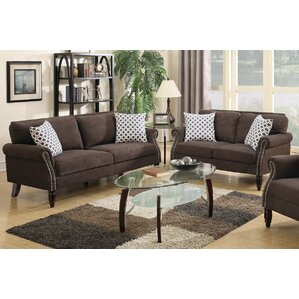 Chandlerville 2 Piece Living Room Set by Alcott Hill