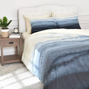 Brayden Studio Granado Within the Tides Stormy Weather Duvet Cover Set