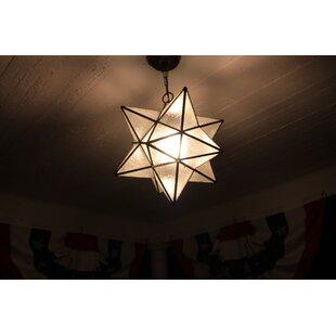 Outdoor Moravian Star Light Outdoor moravian star light wayfair moravian star 1 light mini pendant workwithnaturefo