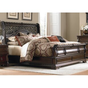 Astoria Grand Kate Sleigh Bed