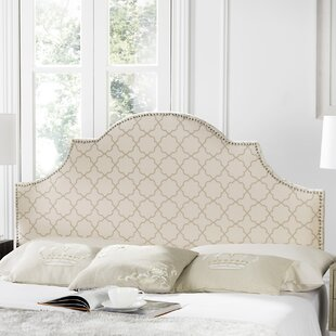 Caswell Upholstered Panel Headboard Pale Pink Beige
