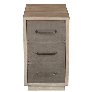 Loon Peak Neagle Industrial Style 3 Drawer Accent Chest