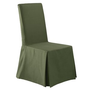 Twill Supreme Long Chair Slipcover by Sure Fit