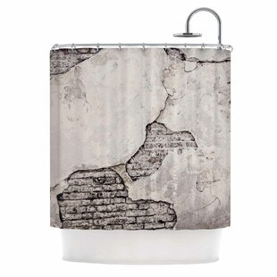 Any Beach Day by Sylvia Cook Coastal Typography Single Shower Curtain