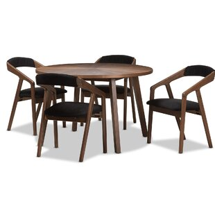Averi Mid-Century Modern 5 Piece Breakfas..