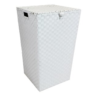 Woven Laundry Bin By Rebrilliant