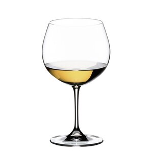 Vinum Oaked Chardonnay White Wine Glass (Set of 2)