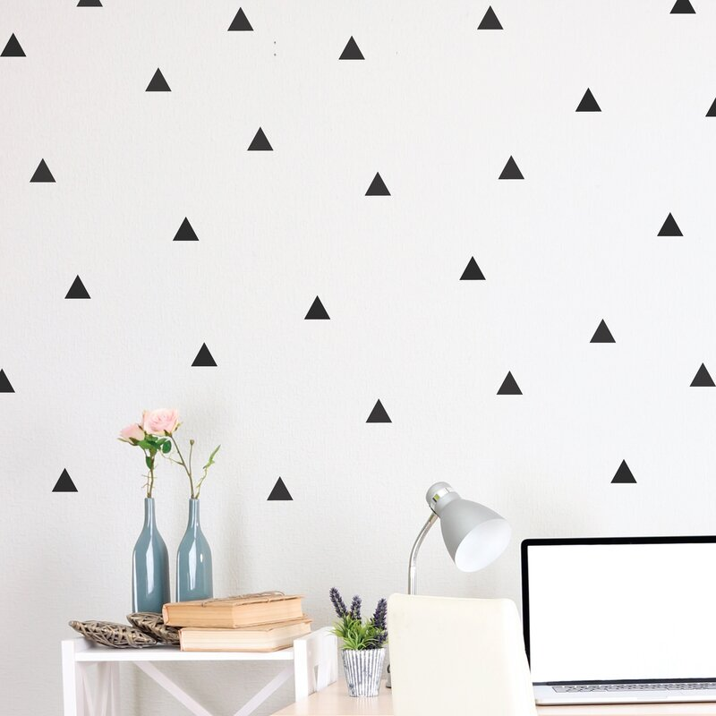 Triangle Wall Decal Reviews Allmodern