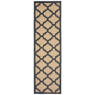 Negron Brown/Black Indoor/Outdoor Area Rug