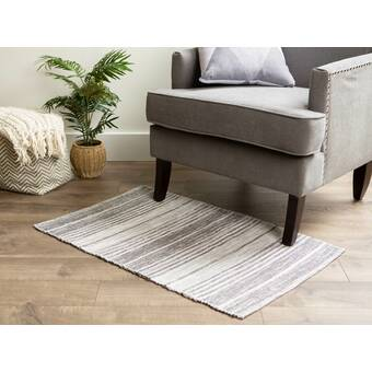 East Urban Home Blurred Out 178 Gray Area Rug Wayfair