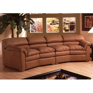 Canyon Queen 90 Leather Sleeper Sofa by Omnia Leather