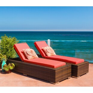 Ohana Chaise Lounge with Cushion (Set of 2)