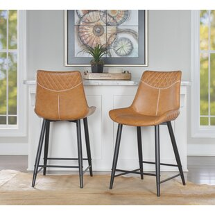 Briceno 24 Bar Stool Union Rustic