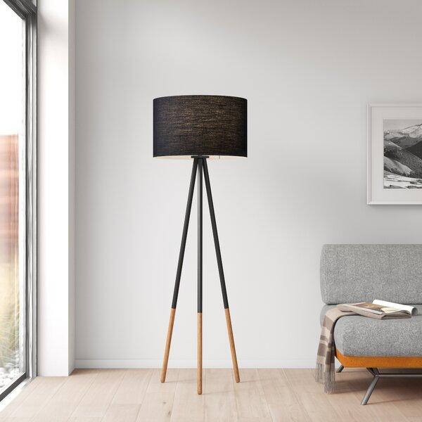 Eckert 60 25 Tripod Floor Lamp Reviews Allmodern
