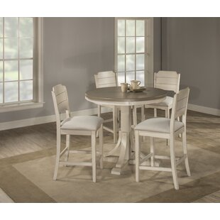 Kinsey Cottage 5 Piece Dining Set by Rosecliff Heights