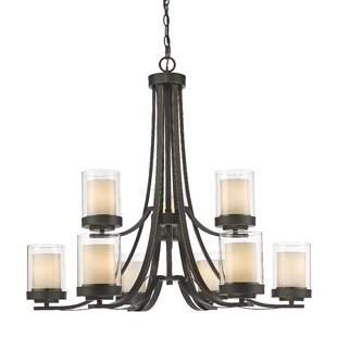 Find the perfect Cheyne 9-Light Shaded Chandelier By World Menagerie