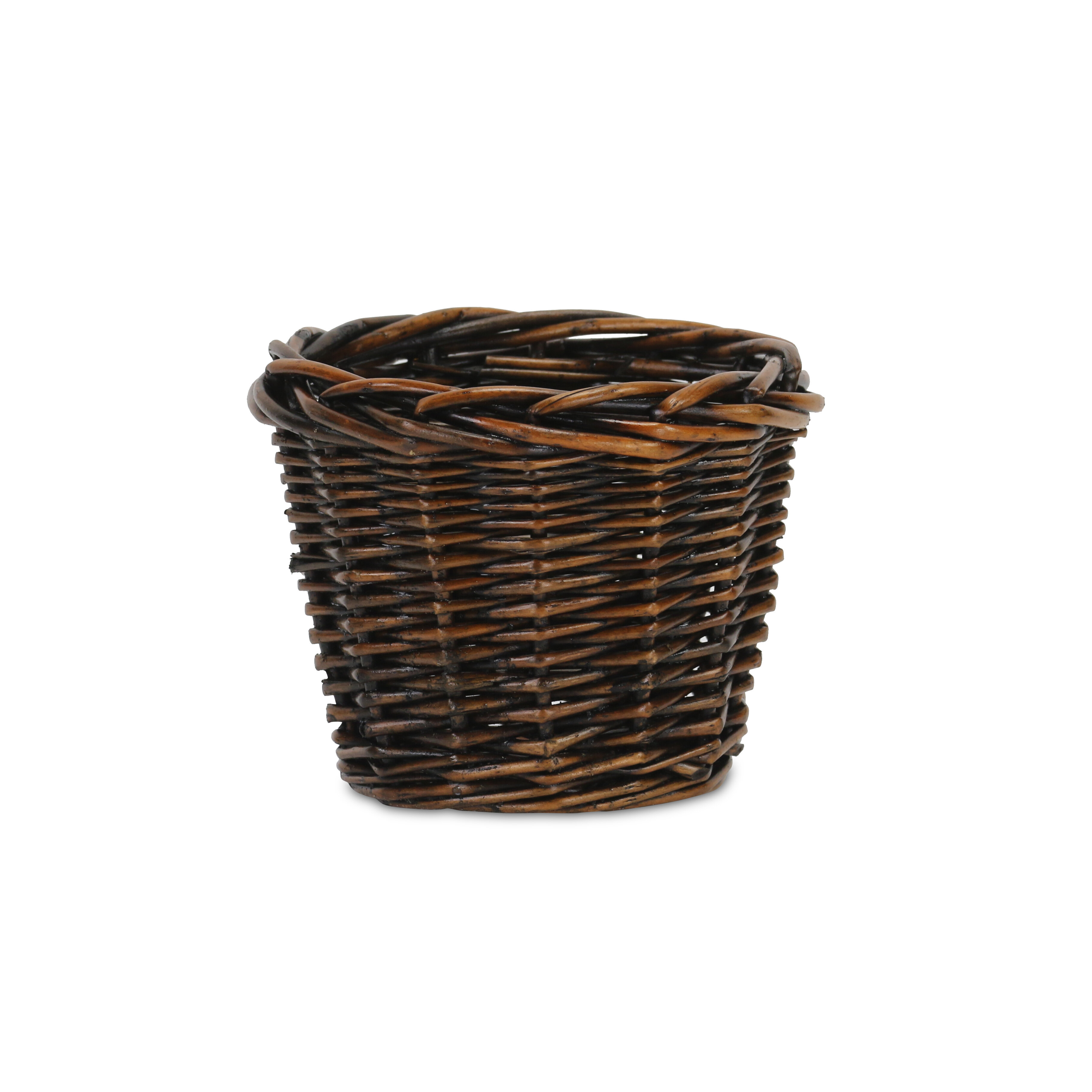 Bay Isle Home Compact Wicker Basket Wayfair