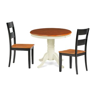 Highland Dunes Cayton 3 Piece Breakfast Nook Dining Set