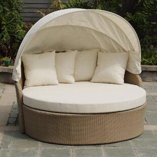 Best Desu, Inc. Blueczy Leisure Daybed with Cushions