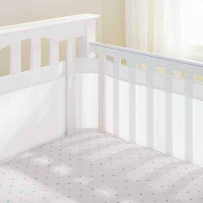 Mesh Crib Bumper Liner Breathable Baby