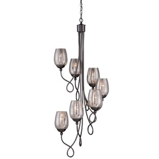 Fleur De Lis Living Sawyer 7-Light Shaded Chandelier