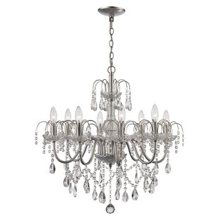House of Hampton Deveraux 8-Light Candle Style Chandelier
