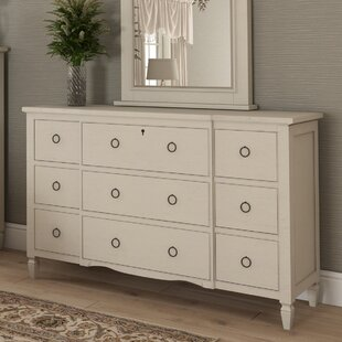 Canora Grey Payton Cottage 9 Drawer Dresser