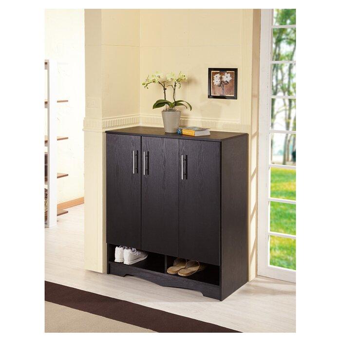 francisco modern 15pair shoe storage cabinet