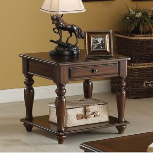 Farrel End Table With Storage ..