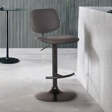 Arpiar Swivel Adjustable Height Bar Stool by Orren Ellis