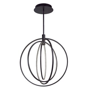 Wade Logan Concentric 4-Light LED Pendant